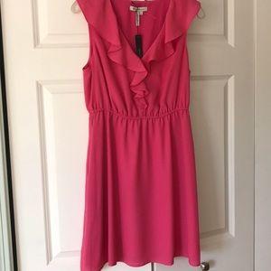Flirty BCBG Hot Pink Party Dress